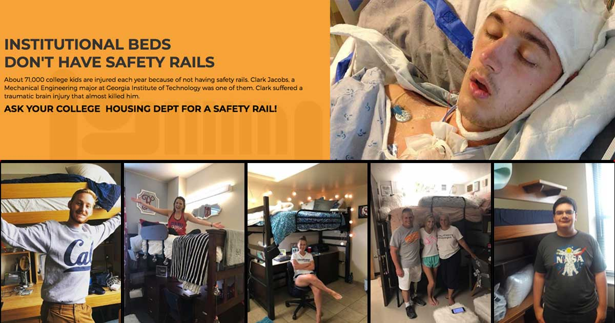 Use Safety Rails On Your Bunk Bed Rail Against The Danger